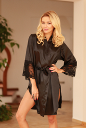 MARBELLA DRESSING-GOWN (satin)